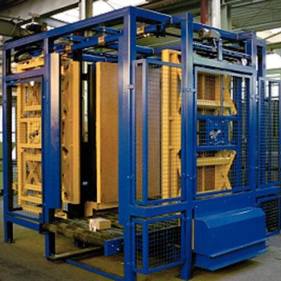 Allseitenzentrierer Zentrierstation Logistik Systeme Paletten Materialflusssysteme Baust