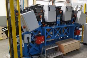 Brs 245 Materialflusssysteme Stanztechnologie Rollen Automation Baust Gruppe Unternehmen