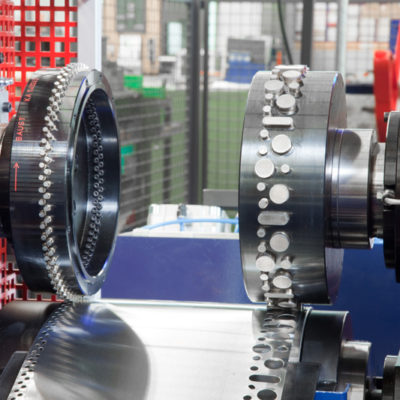 Brs Rotationsstanzmaschine Stanzmaschine Rotationsstanzen Bau Industrie Stanztechnologie Baust
