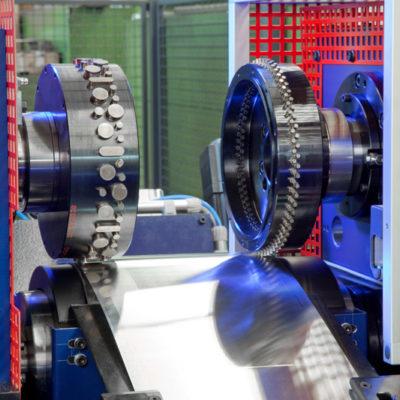 Brs Rotationsstanzmaschine Stanzmaschine Rotationsstanzen Industrie Bau Stanztechnologie Baust