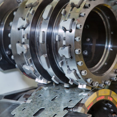 Brs Stanzmaschine Rotationsstanzmaschine Rotation Stanzen Bau Industrie Trockenbau Stanztechnologie Baust