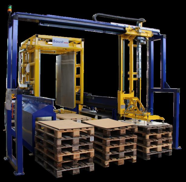 Deckblattaufleger Systeme Logistikmanagement Materialflusssysteme Baust