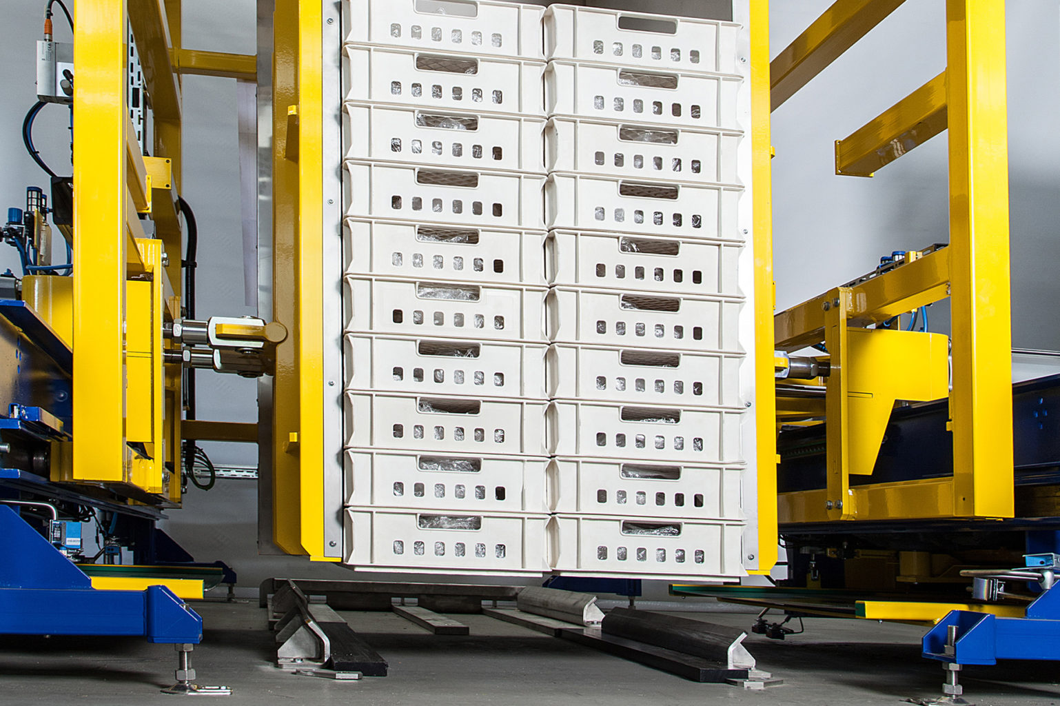 Hybrid Palettenwechsler Pw 2000 H Materialflusssysteme Baust