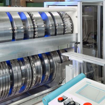 Krs Rotationsstanze Kunststoffindustrie Stanztechnologie Rotationsstanzmaschine Industrie Baust