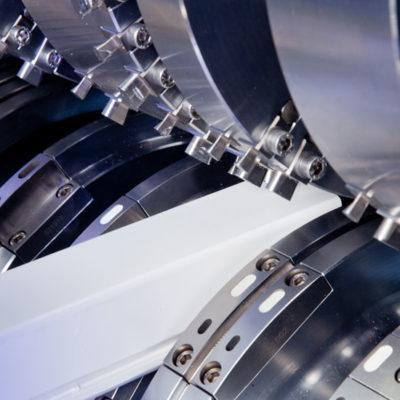 Krs Rotationsstanze Kunststoffindustrie Stanztechnologie Rotationsstanzmaschine Plastik Industrie Baust