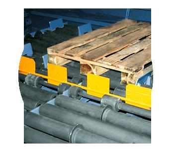 Kontrolleinrichtungen Palettenhandling Materialflusssysteme Paletten Industrie Baust