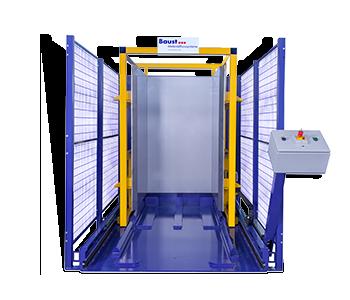 Pw 1000 Palettenwechsler Logistik Systeme Paletten Materialflusssysteme Baust