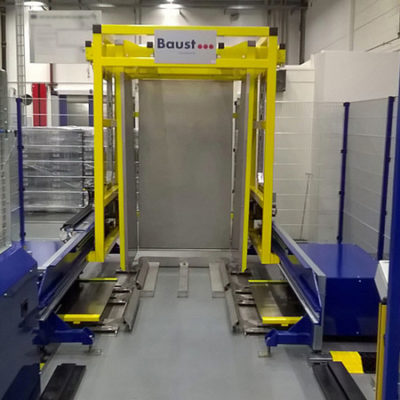 Pw 2000 Palettenwechsler Lagermanagement Logistik Systeme Materialflusssysteme Baust