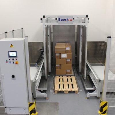 Pw 2000 Palettenwechsler Lagermanagement Paletten Logistik Systeme Materialflusssysteme Baust