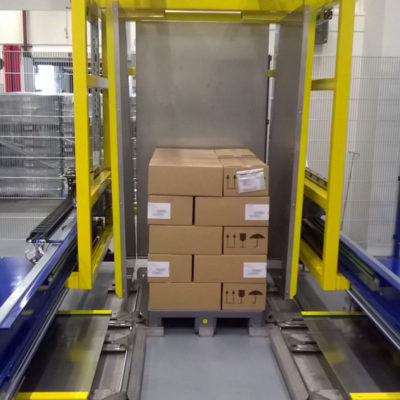Pw 2000 Palettenwechsler Logistik Systeme Lagermanagement Paletten Materialflusssysteme Baust