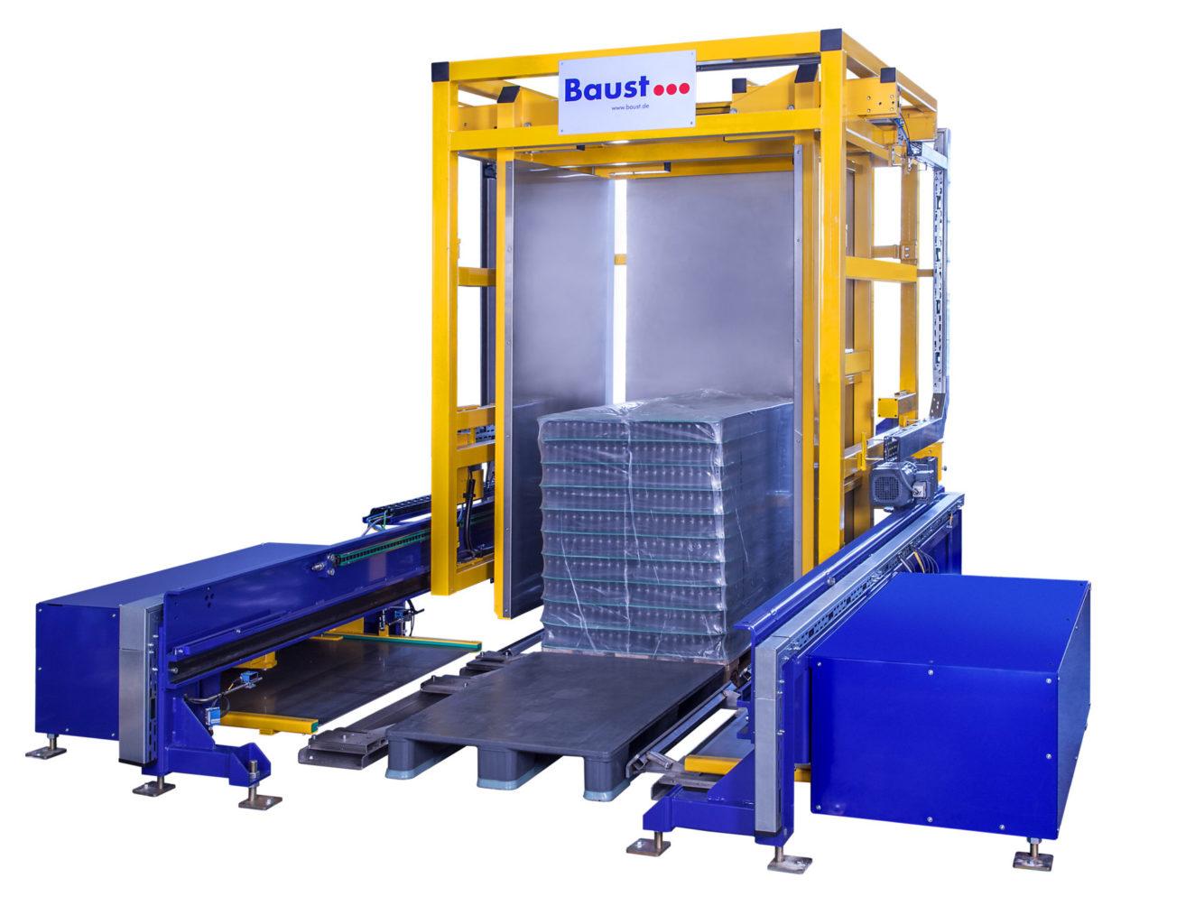 Pw 2000 Palettenwender Foerdertechnik Logistik Systeme Lager Management Baust Materialflusssysteme