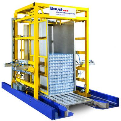 Pw 3000 Palettenwechsler Lagermanagement Paletten Logistik Systeme Materialflusssysteme Baust