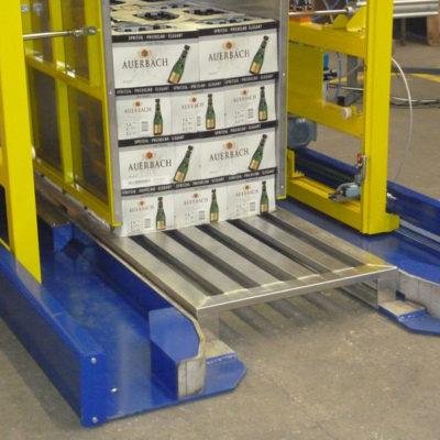 Pw 3000 Palettenwechsler Logistik Systeme Lagermanagement Paletten Materialflusssysteme Baust