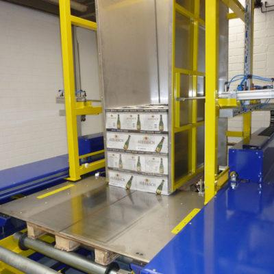 Pw 4000 Palettenwechsler Logistik Systeme Lagermanagement Paletten Materialflusssysteme Baust