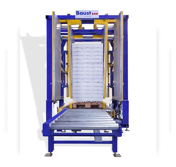 Pw 500 Inline Palettenwechsler Logistik Paletten Materialflusssysteme Baust