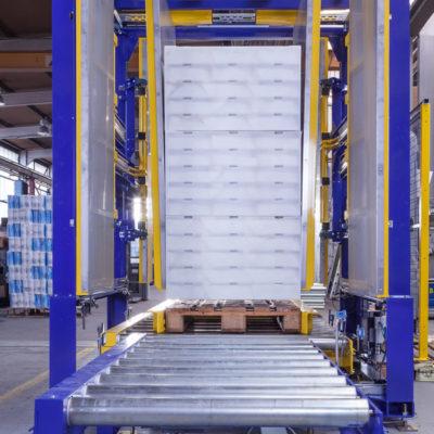 Pw 500 Inline Palettenwechsler Logistik Paletten Systeme Materialflusssysteme Baust
