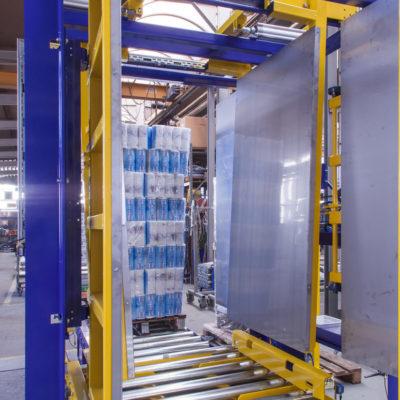 Pw 500 Inline Palettenwechsler Logistik Systeme Materialflusssysteme Baust