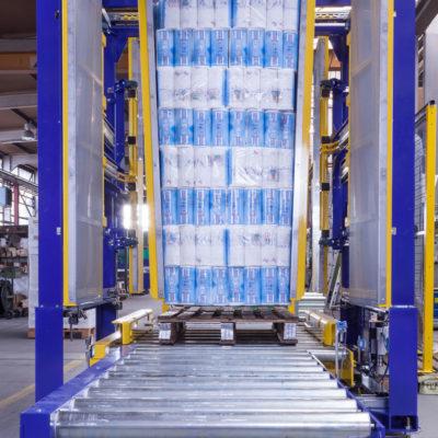 Pw 500 Inline Palettenwechsler Logistik Systeme Paletten Materialflusssysteme Baust