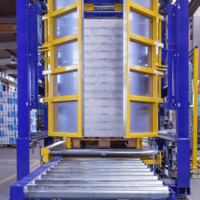 Pw 500 Inline Palettenwechsler Paletten Logistik Materialflusssysteme Baust