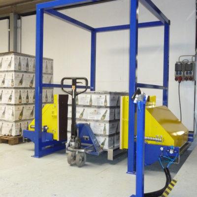 Pw 500 Palettenwechsler Logistik Paletten Materialflusssysteme Baust
