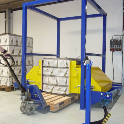 Pw 500 Palettenwechsler Paletten Logistik Systeme Materialflusssysteme Baust