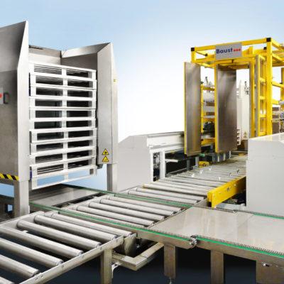 Pw 5000 Hygiene Palettenwechsler Palettenwender Anlagen Palettieranlage Palett Changer