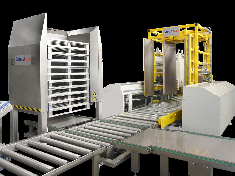 Pw 5000 Hygiene Palettenwechsler Palettenwender Palettenhandling Baust Materialflusssysteme