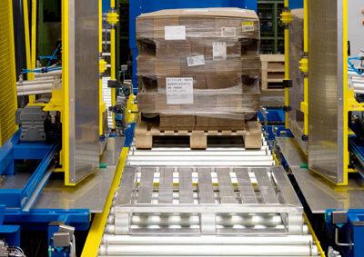 Pw 5000 Palettenwechsler Lagermanagement Logistik Paletten Systeme Materialflusssysteme Baust