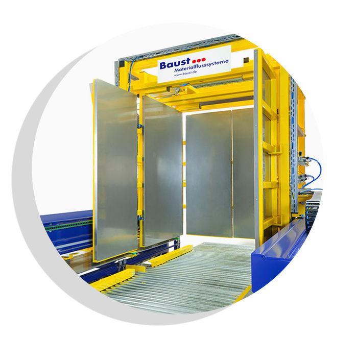 Pw 5000 Palettenwechsler Lagermanagement Logistik Systeme Paletten Materialflusssysteme Baust