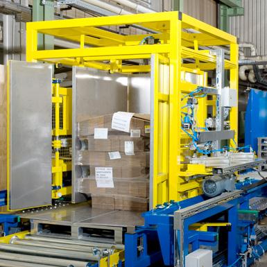 Pw 5000 Palettenwechsler Logistik Systeme Lagermanagement Paletten Materialflusssysteme Baust
