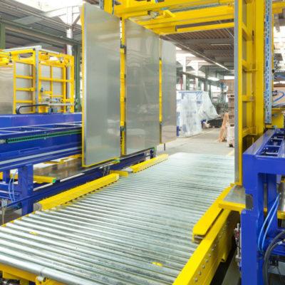 Pw 5000 Palettenwechsler Logistik Systeme Paletten Lagermanagement Materialflusssysteme Baust