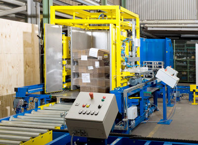 Pw 5000 Palettenwechsler Paletten Lagermanagement Logistik Systeme Materialflusssysteme Baust
