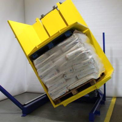 Pw 600 Palettenwender Logistik Paletten Materialflusssysteme Baust