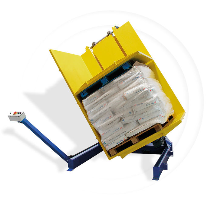 Pw 600 Palettenwender Logistik Systeme Paletten Materialflusssysteme Baust
