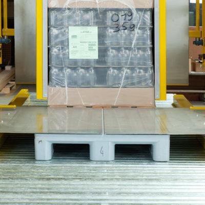 Pw 6000 Palettenwechsler Lagermanagement Logistik Paletten Systeme Materialflusssysteme Baust