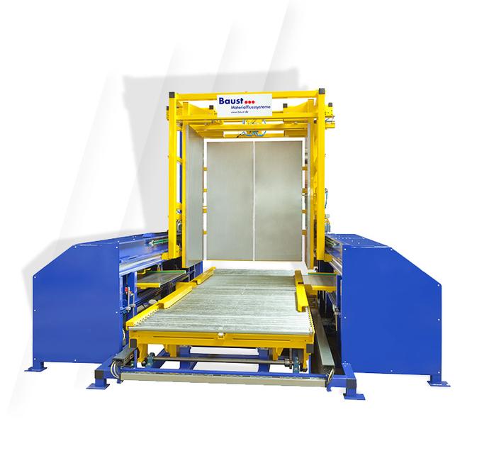 Pw 6000 Palettenwechsler Lagermanagement Logistik Systeme Paletten Materialflusssysteme Baust