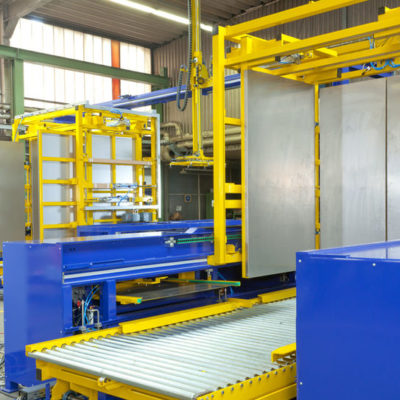 Pw 6000 Palettenwechsler Lagermanagement Paletten Logistik Systeme Materialflusssysteme Baust