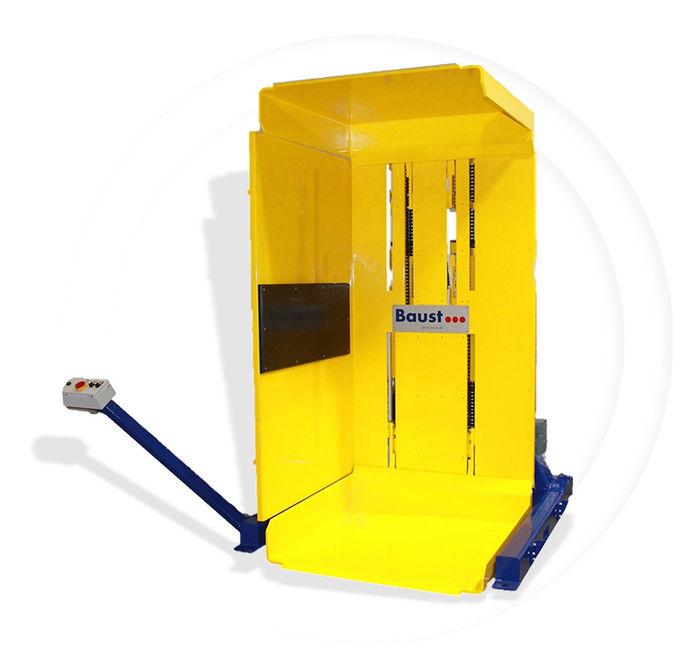 Pw 700 Palettenwender Lagermanagement Logistik Systeme Paletten Materialflusssysteme Baust
