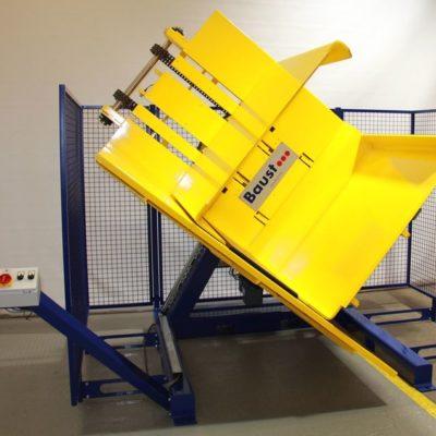 Pw 700 Palettenwender Logistik Systeme Paletten Materialflusssysteme Baust
