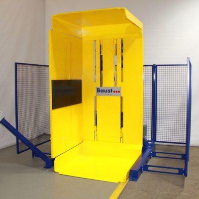 Pw 700 Palettenwender Paletten Lagermanagement Logistik Systeme Materialflusssysteme Baust