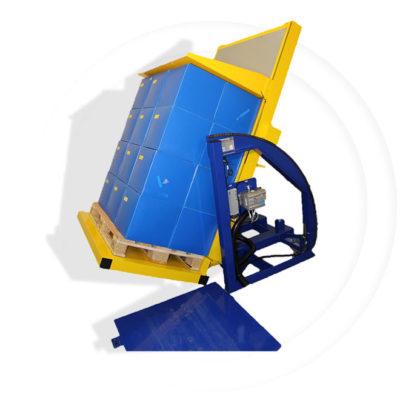Pw 800 E Palettenwender Lagermanagement Logistik Systeme Paletten Materialflusssysteme Baust