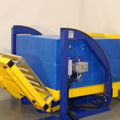 Pw 800 E Palettenwender Lagermanagement Paletten Logistik Systeme Materialflusssysteme Baust