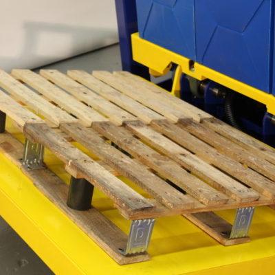 Pw 800 E Palettenwender Lagermanagement Systeme Logistik Paletten Materialflusssysteme Baust