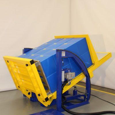 Pw 800 E Palettenwender Logistik Systeme Paletten Lagermanagement Materialflusssysteme Baust