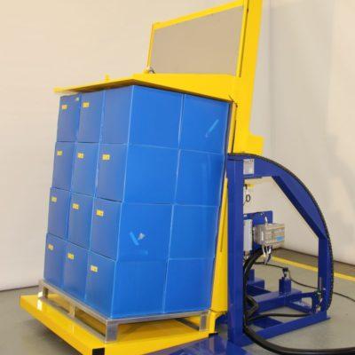 Pw 800 E Palettenwender Paletten Systeme Logistik Lagermanagement Materialflusssysteme Baust