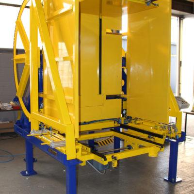 Pw 800 Inline Palettenwechsler Lagermanagement Logistik Paletten Systeme Materialflusssysteme Baust