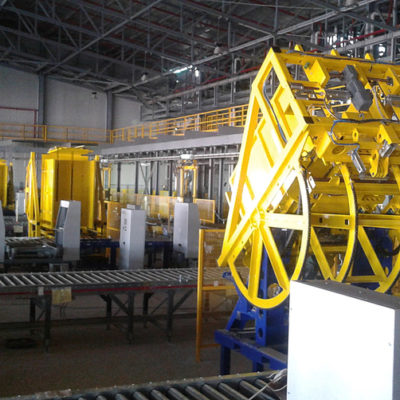Pw 800 Inline Palettenwechsler Lagermanagement Systeme Logistik Paletten Materialflusssysteme Baust