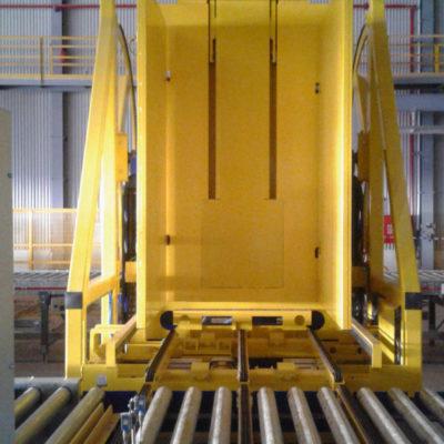 Pw 800 Inline Palettenwechsler Logistik Lagermanagement Systeme Paletten Materialflusssysteme Baust