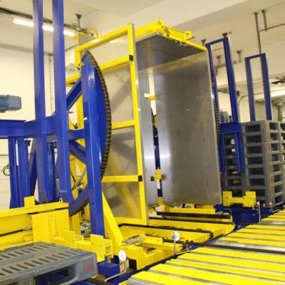 Pw 800 Inline Palettenwechsler Logistik Paletten Systeme Materialflusssysteme Baust