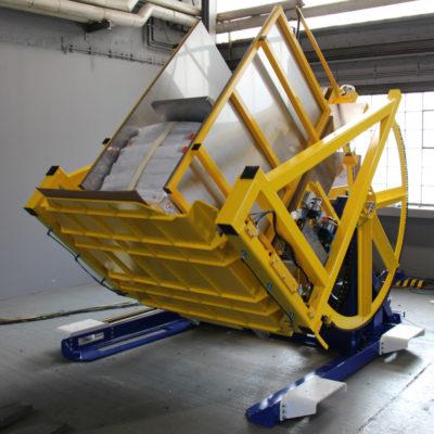 Pw 800 Palettenwechsler Lagermanagement Logistik Paletten Systeme Materialflusssysteme Baust